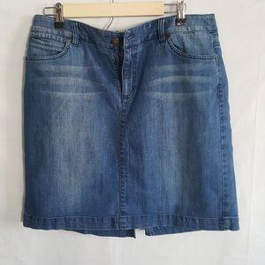 Jones New York Sport Jean Skirt Size 12